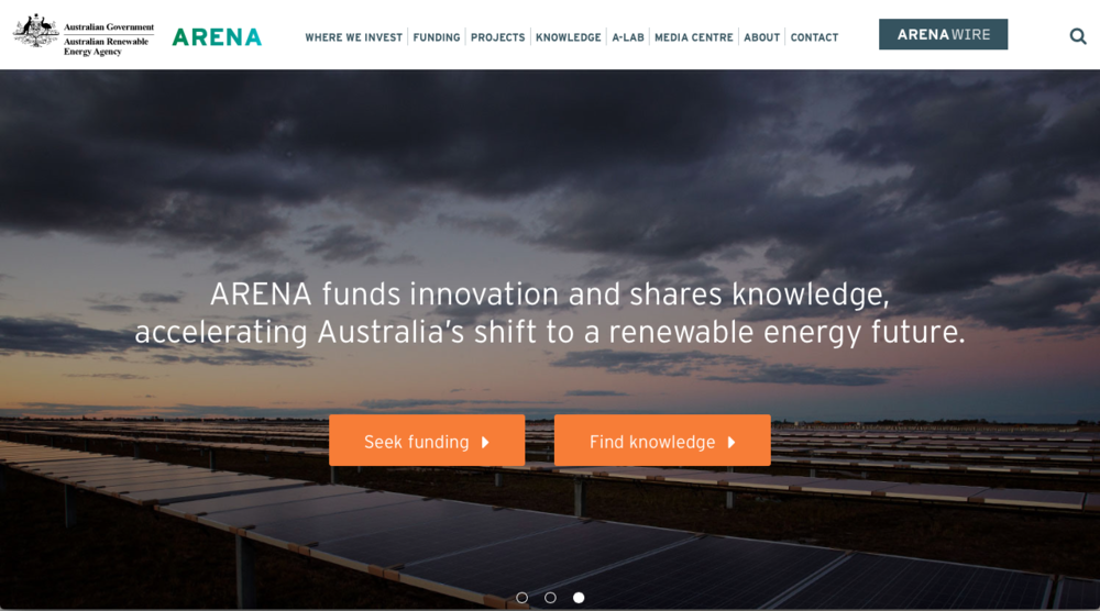 Australian Renewable Energy Agency (ARENA)