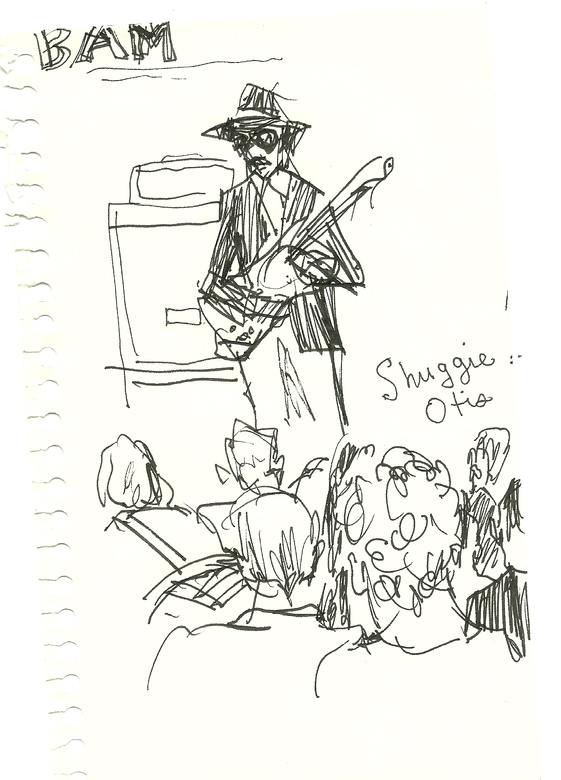 shuggie sketch