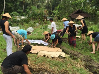 Introduction to permaculture at Jiwa Damai