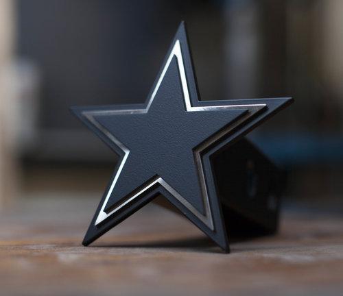 9af4a858b48 Dallas Cowboys - Trailer Hitch Cover - Blacked Out. Blacked Out Dallas  Coyboys THC 1.jpg