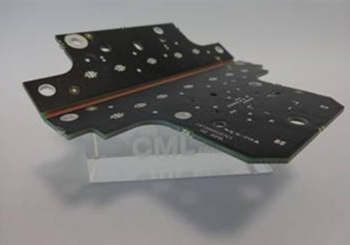 Bild       SEQ Figure \* ARABIC     2    : Biegbare Leiterplatte für LED Scheinwerfer