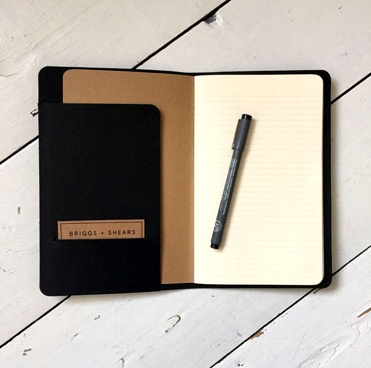 Moleskine Classic Notebook, Large, Ruled, Black, Hard Cover (5 x ...