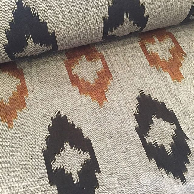 Looking at new materials for some new products and designs for the home. #newdesign #ikat #natural #simple #simplicity #madeinengland #handmade #productdesign #designer #eastlondon