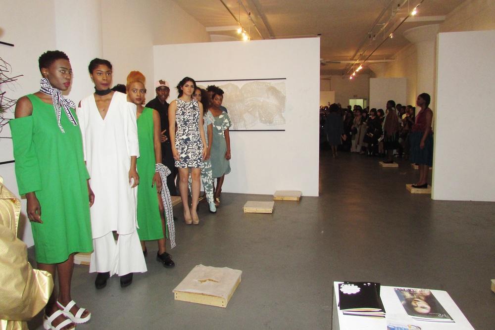 Presentation/ ShowTime: #FashionEnvie2016 #FE16 #BeaMondeSociety  Designers: Kahkti, Nyorh Agwe, Marielle Ejiama