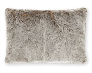 Tonal faux fur cushion £18 www.next.co.uk