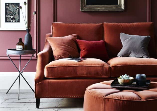 Eva Sofa in Fox velvet from £1,975  www.neptune.com