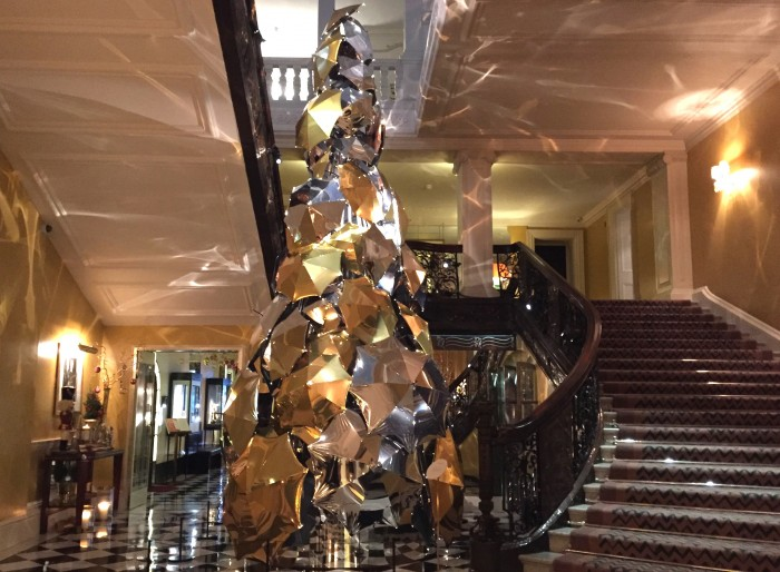 Claridges 2015 Christmas Tree
