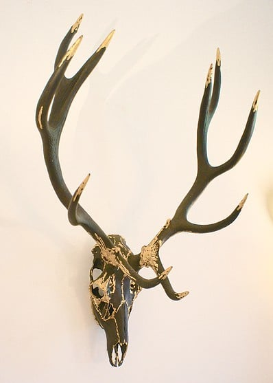 Guilded graphite 10 pointer www.skulldouggery.co.uk