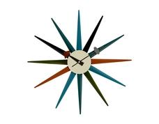 George Nelson style Starburst clock £49.95  www.vita-interiors.com