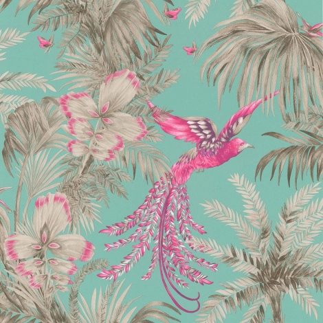 Bird of paradise wallpaper £67 per roll www.amaraliving.com