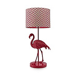 Flamingo lamp £75 www.debenhams.com