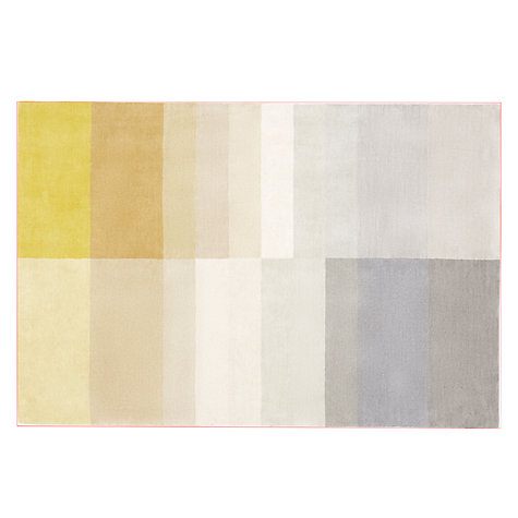 Darci striped yellow rug £170 - £340  www.johnlewis.co.uk