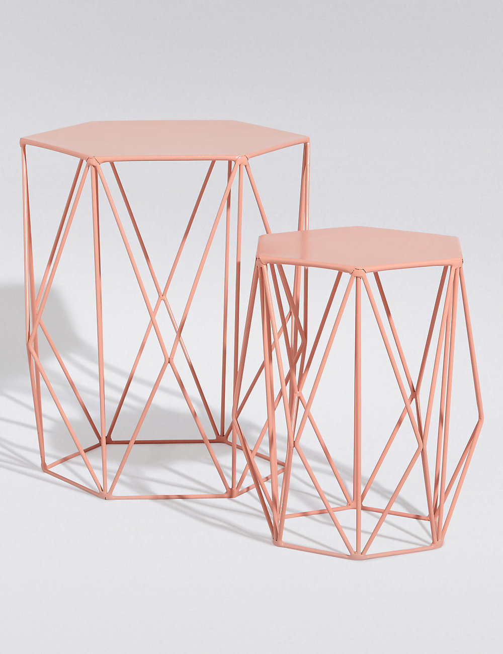 Coral nest of tables £79 currently out of stock* insert cry face emoji here.