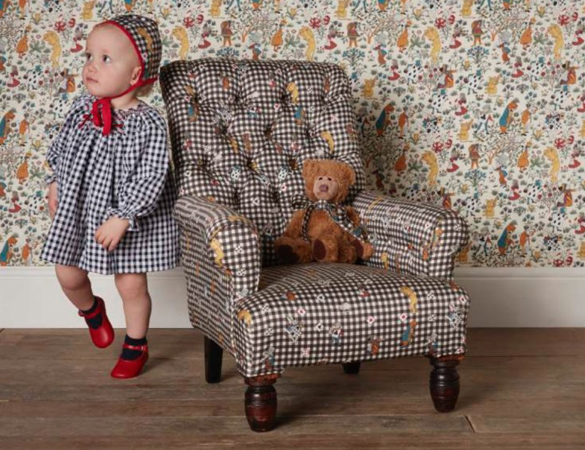 Little House of Hackney X La Coqueta babywear (and matching bonnets!)