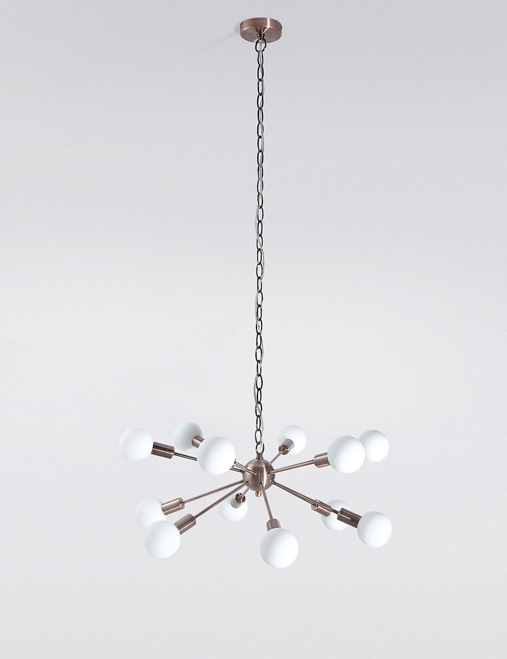 Dexter Sputnik copper style chandelier £179 Marks and Spencer