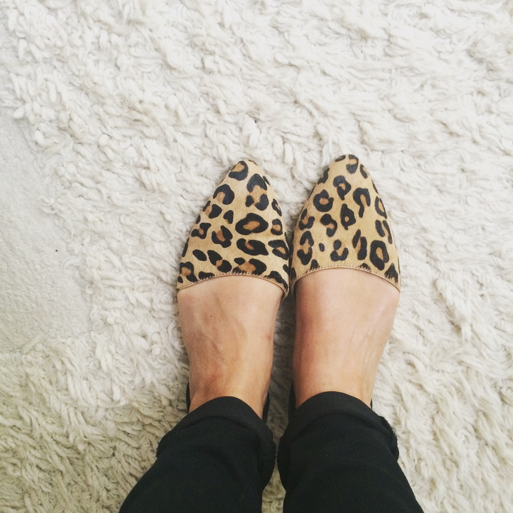 Leopard print slip ons (no longer available)  www.ugg.com