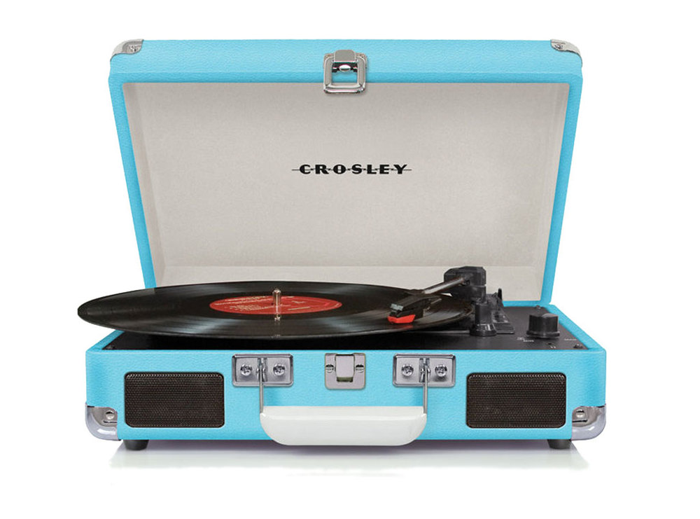 Crosley portable turntable £79.99 www.amazon.co.uk