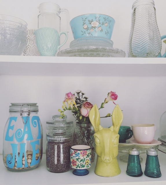 Storage jars make even the boring ingredients look pretty