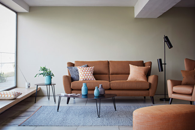 Florence sofa and Floyd armchair from The Lounge Co.