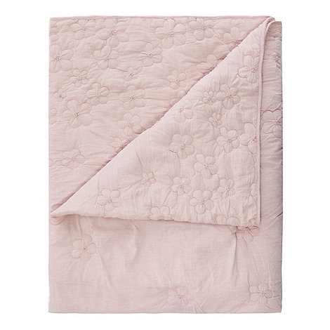 Pale pink Rosha John Rosha throw, £100 Debenhams