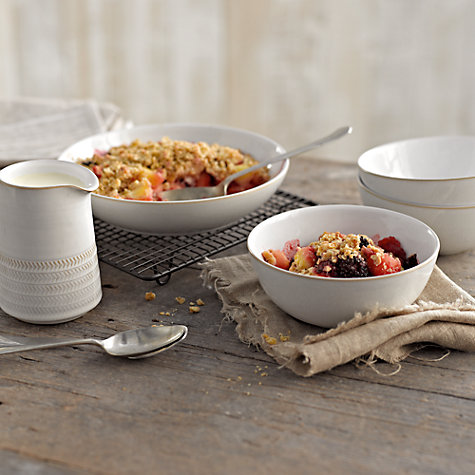 Denby's  best selling  Natural Canvas  stoneware.