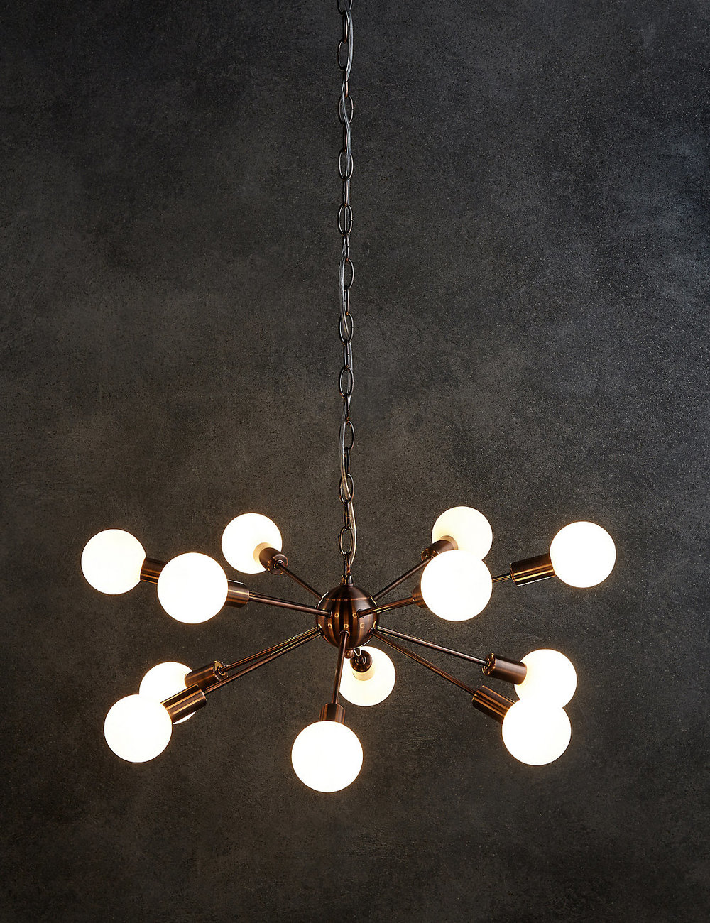 Dexter  copper sputnik light £179 Marks and Spencer