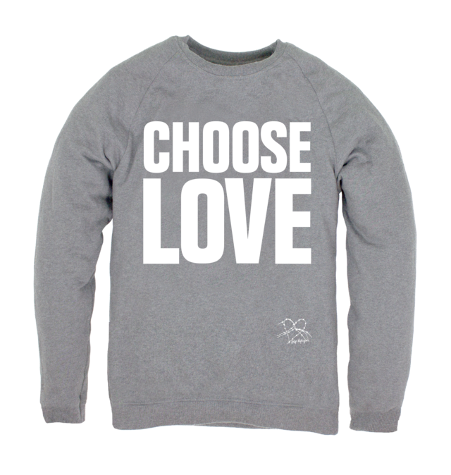 Choose Love jumper £35