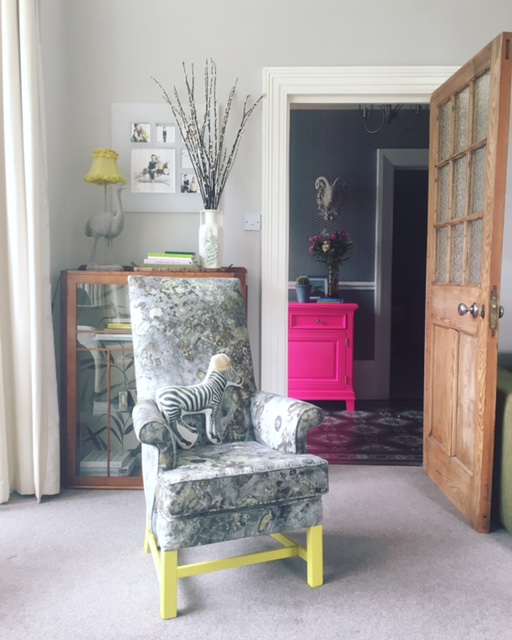 "My ""Trad meets Rad"" Parker Knoll x  Upperlands  makeover."