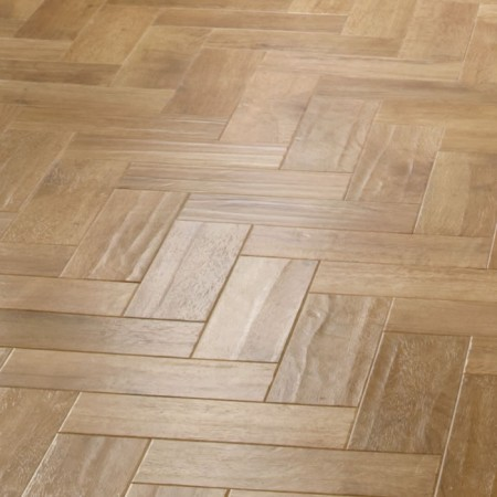 Blonde Oak parquet floor, £45.50 per sqm  Karndean