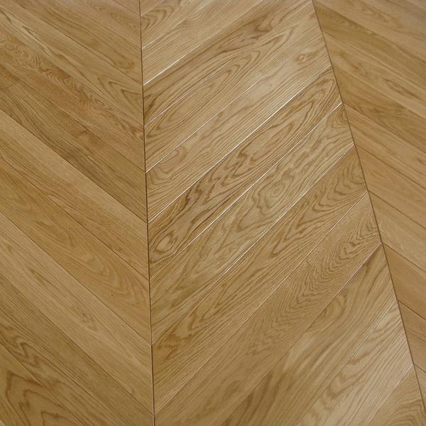 Luxury Engineered Prime Chevron parquet Oak £47 Timber Trade Direct