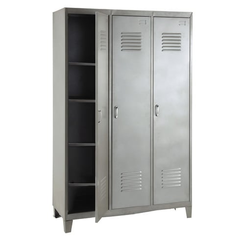 Metal locker storage £459  Maison Du Monde