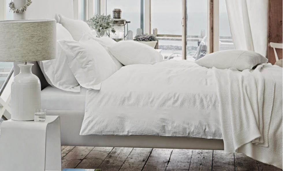 The simple luxury of beautiful bedlinen by  The White Company