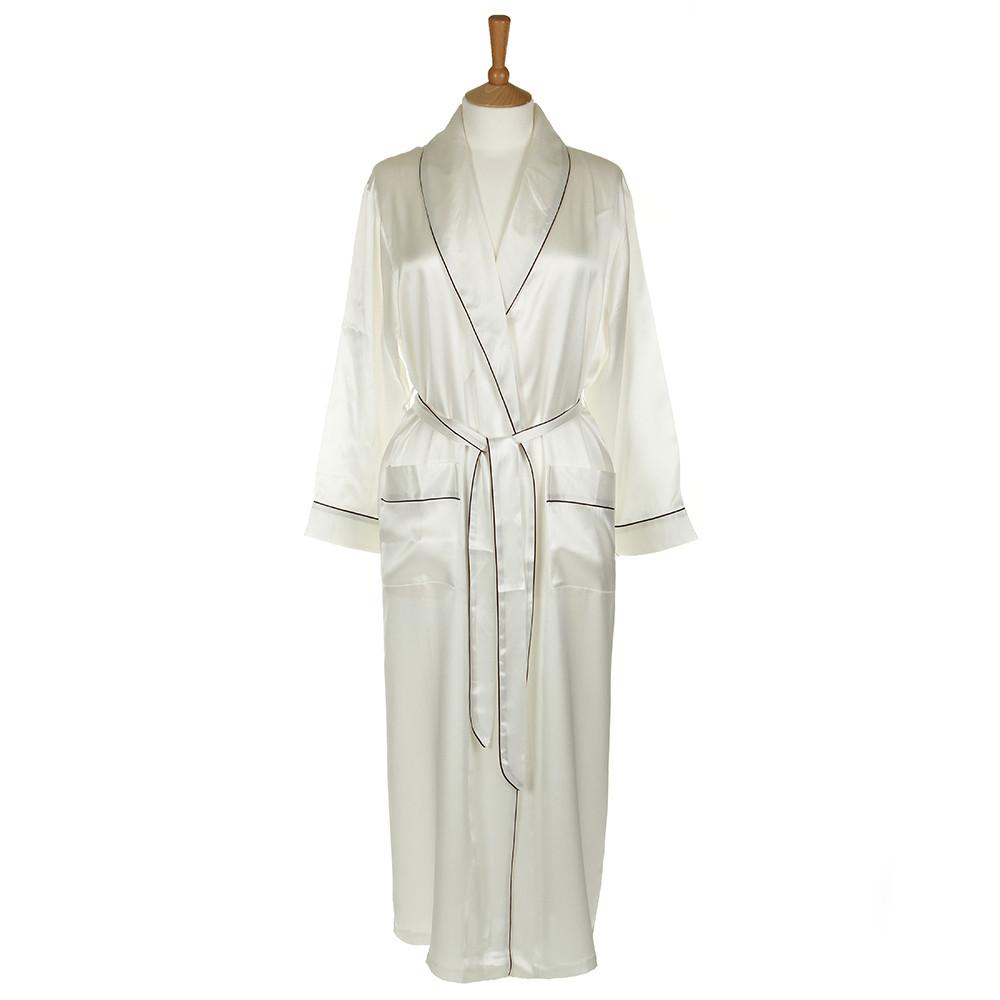 Gingerlily silk dressing gown £210 www.amara.com