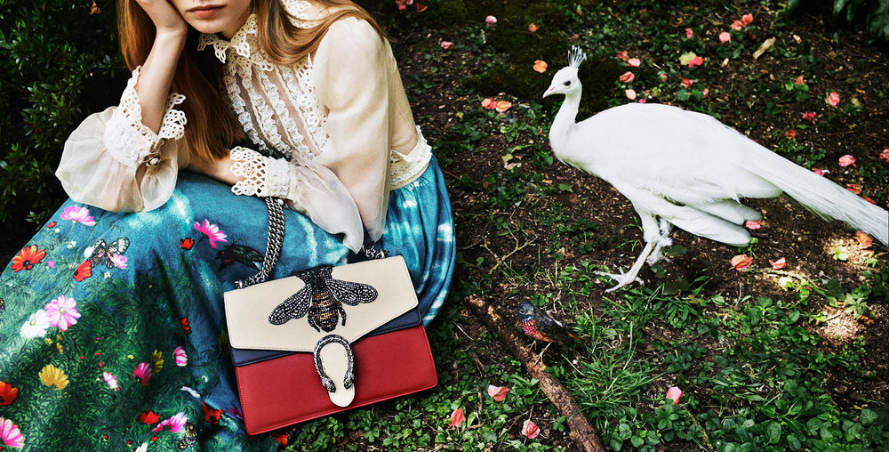 Gucci Garden Collection available at Harrods