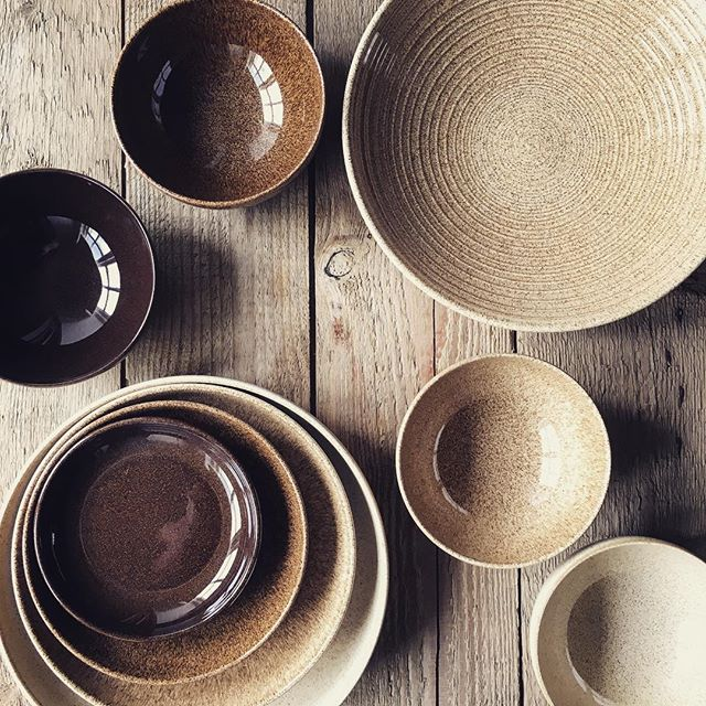 Mix and Match Studio Craft bowls by Denby Pottery