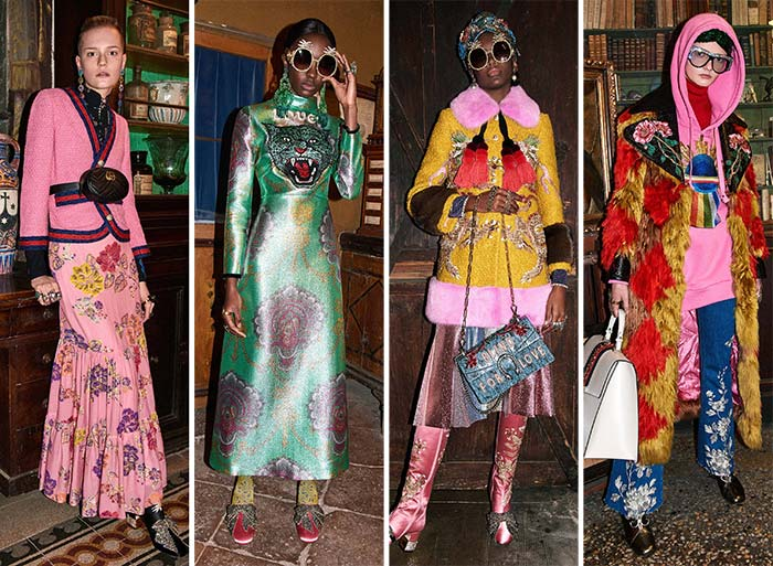 Gucci's fresh take on florals for AW17
