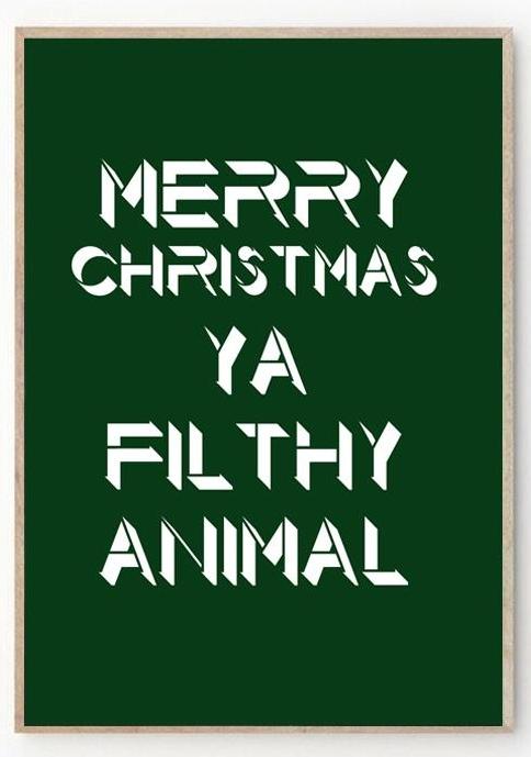 A bit of friendly festive filth £7.50 by  www.nickiekelly.com