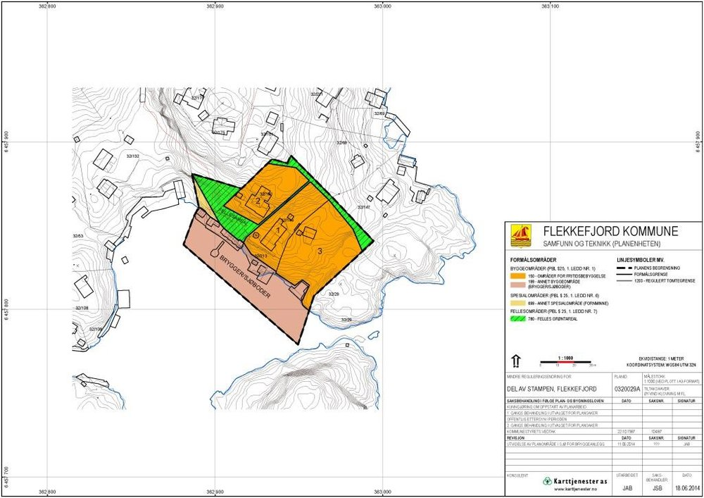 Reguleringsplan for Stampen, Flekkefjord kommune