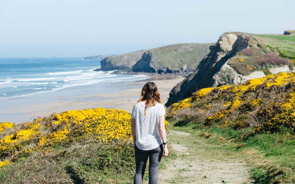 Lifestyle shoot for Shore Projects at Watergate Bay | Karl Mackie Photography