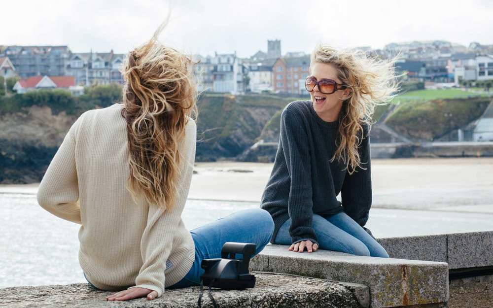 Lifestyle fashion for Old Harry Knitwear in Newquay-4 | Karl Mackie Photography