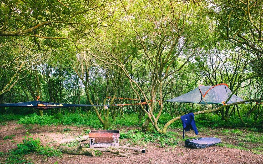 Tentsile camping at Kudhva  | Karl Mackie Photography