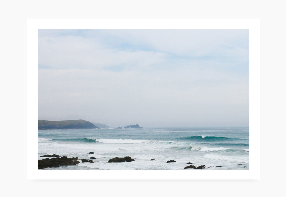 Perfect surf at Newquay Little Fistral | Karl Mackie Photography | Art Print