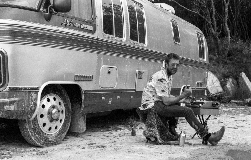 Airstream Caravan Photoshoot in Cornwall | With Ilford FP4 | Karl Mackie Photography