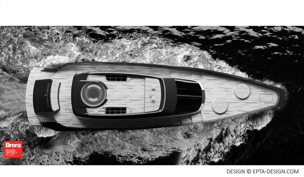 Yacht Design Kingfisher Martin 2016