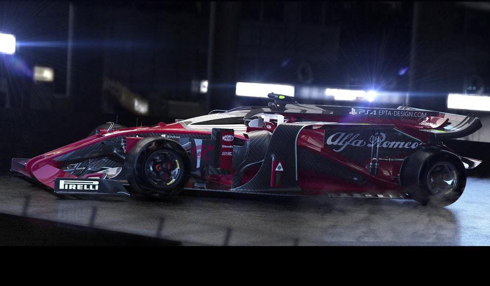 2018 AlfaRomeo Brabham Evo