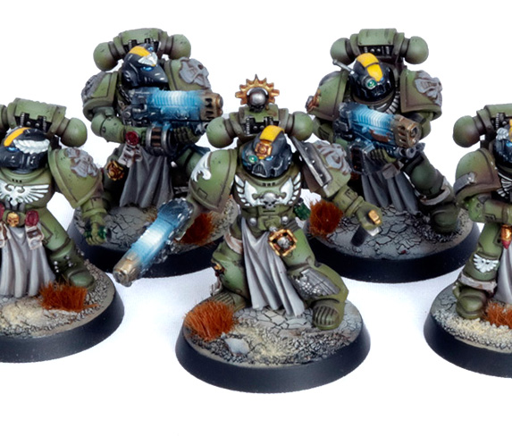 Space marine raptors