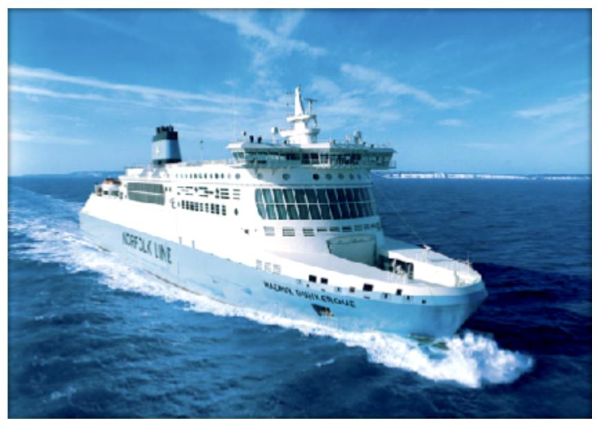 De ferry van Ayvalik naar Mythilini (18 Dollar)
