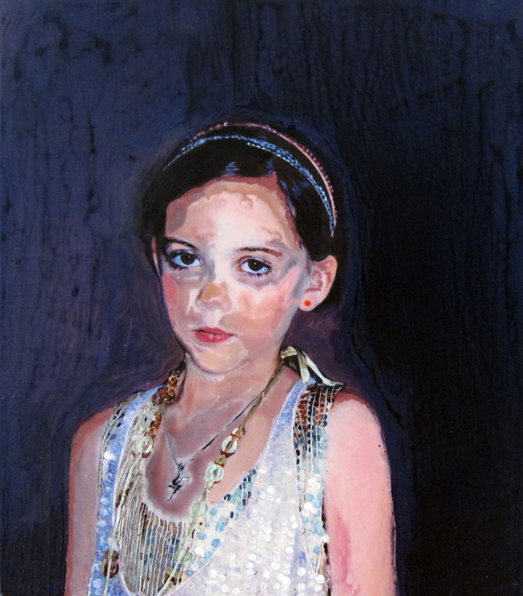 JOSEPHINE  Acrylic on Panel