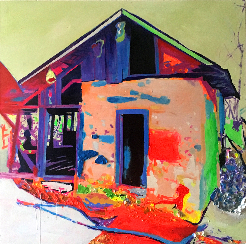 Untitled (Neon House)