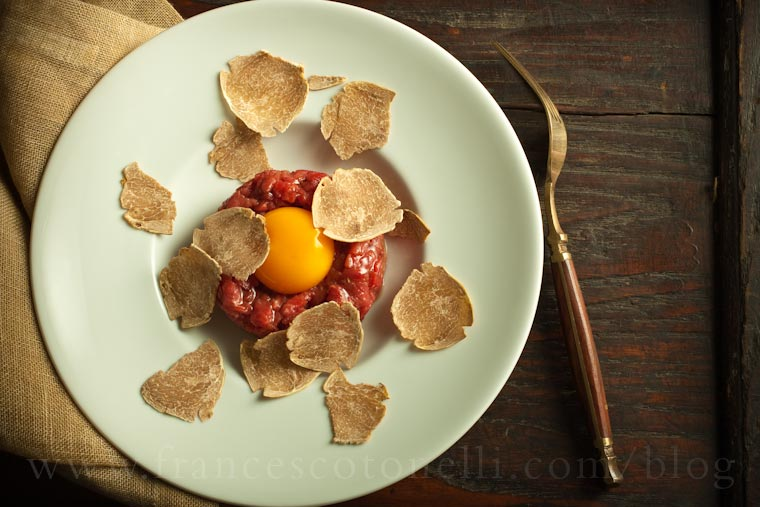 Beef Tartare with Truffle